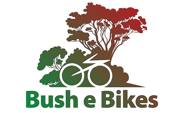 Bush e Bikes half-day bike hire for two