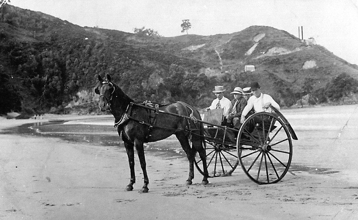 Waihi Beach Gold Mining History