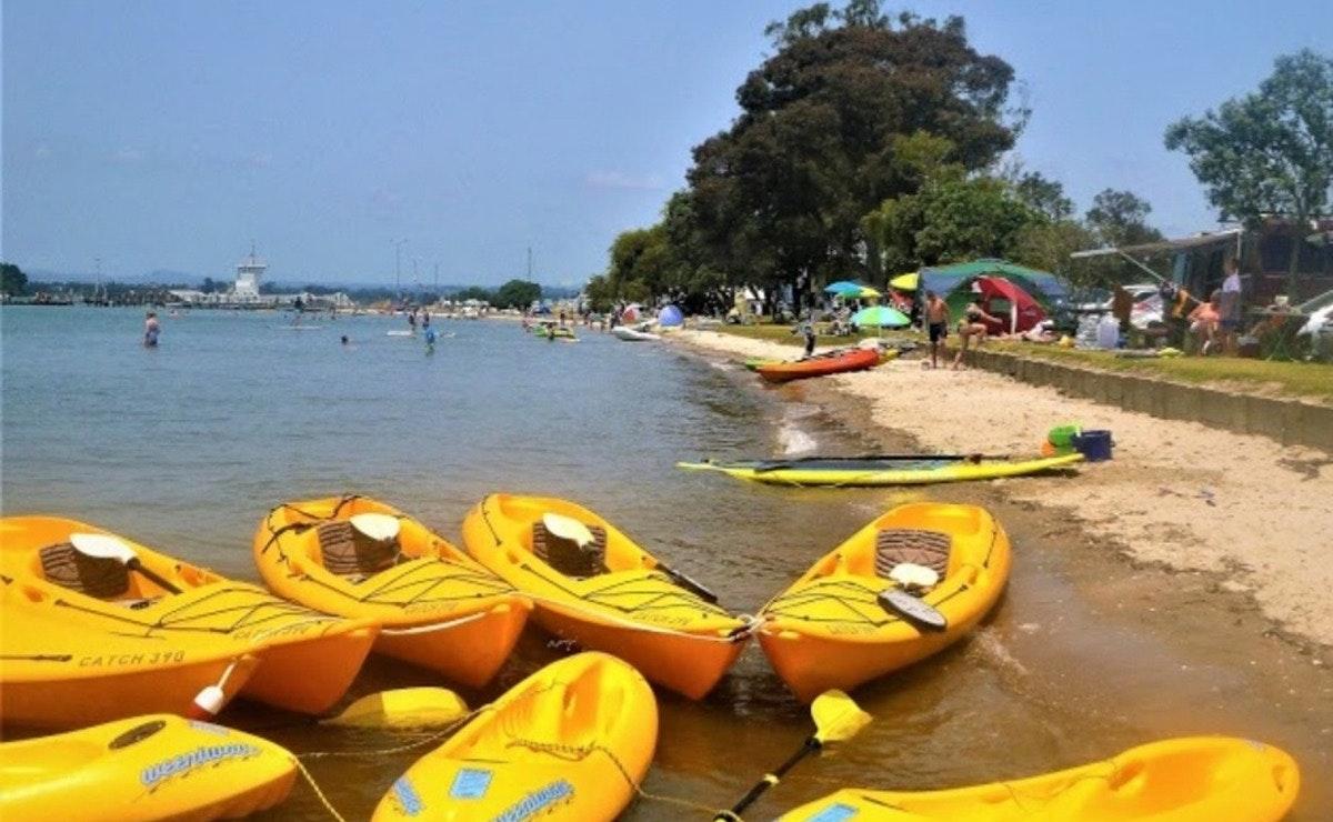 Waterways Adventure Omokoroa Kayaks - Afternoon