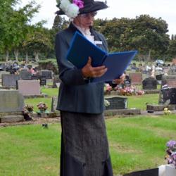 Waihi Cemetery Tour