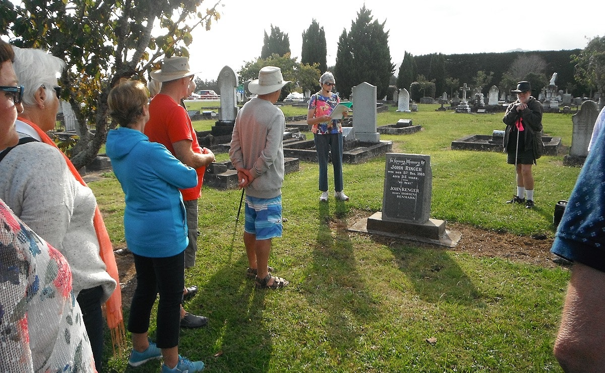 Waihi Cemetery Walk - Movers and Shakers of Early Waihi