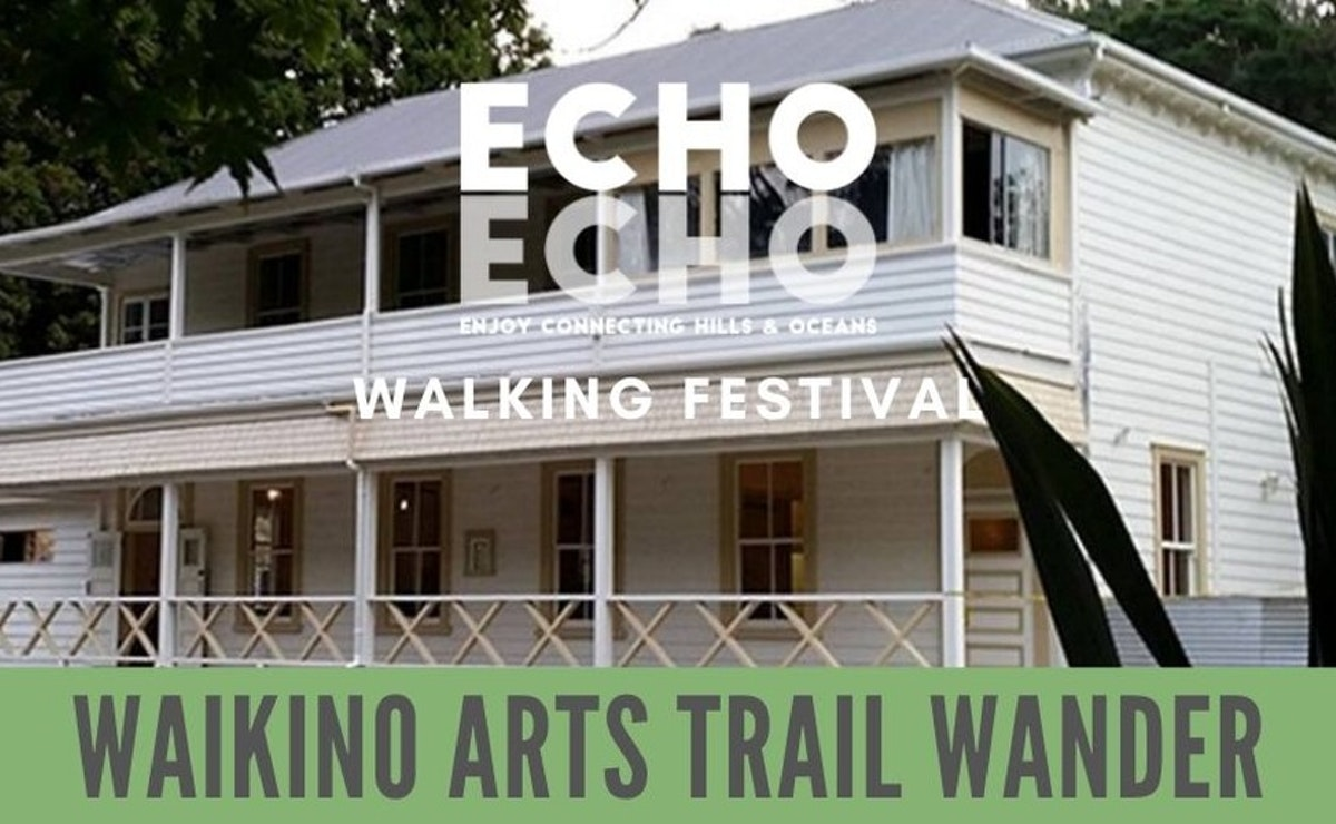 Waikino Arts Trail Wander-FULLY BOOKED