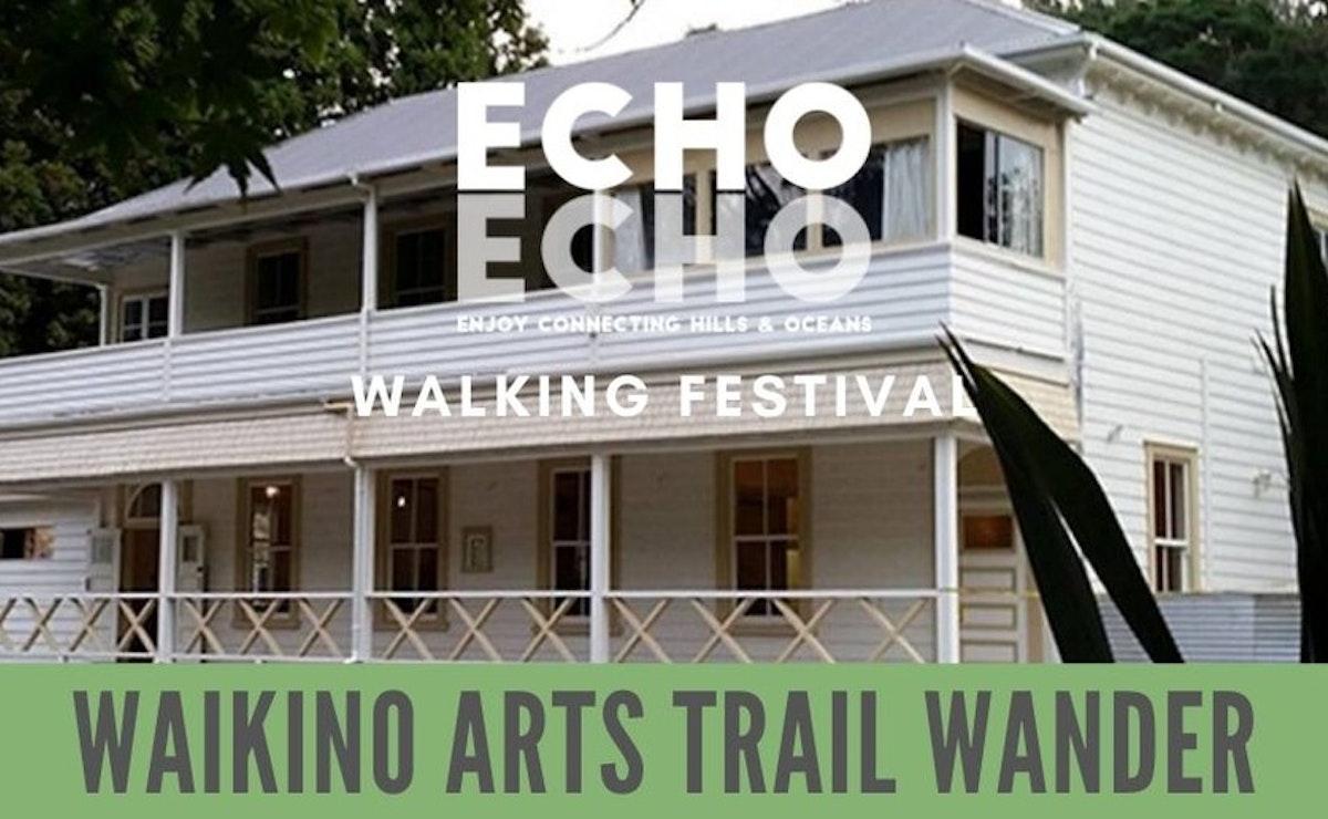 Waikino Arts Trail Wander